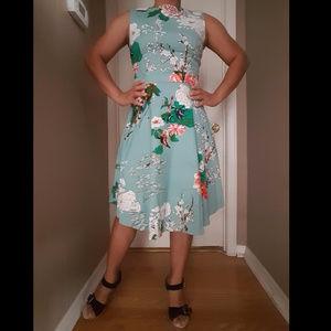 Dresses & Skirts - Floral Garden Swing Dress